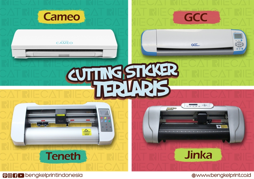 6 Jenis Mesin Cutting Sticker Mini Terlaris di Indonesia