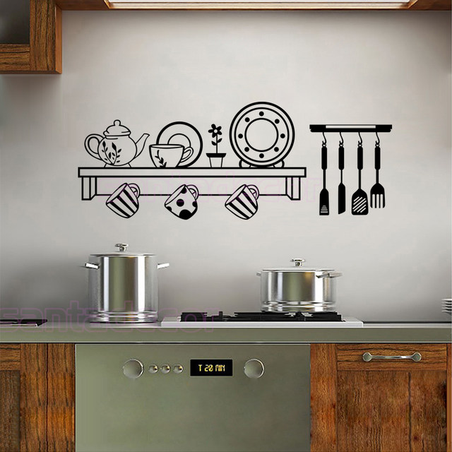 13 Inspirasi Vinyl Wall Sticker Untuk Ruangan Dalam Rumah