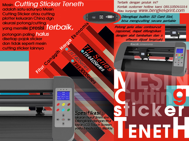 cutting sticker termurah