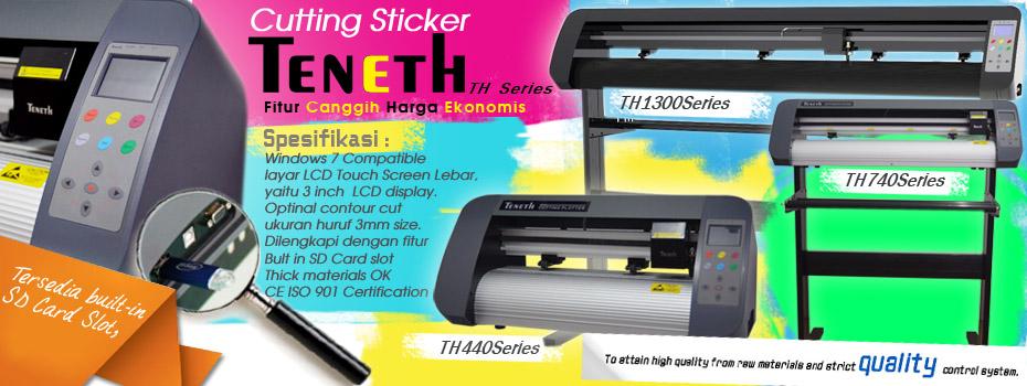 cutting sticker teneth medan