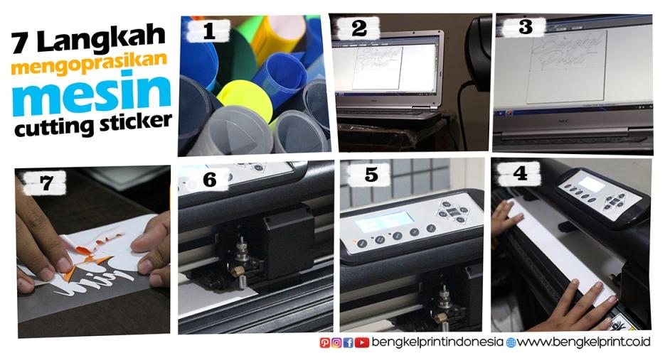 7 Langkah Mengoperasikan Mesin Cutting Sticker