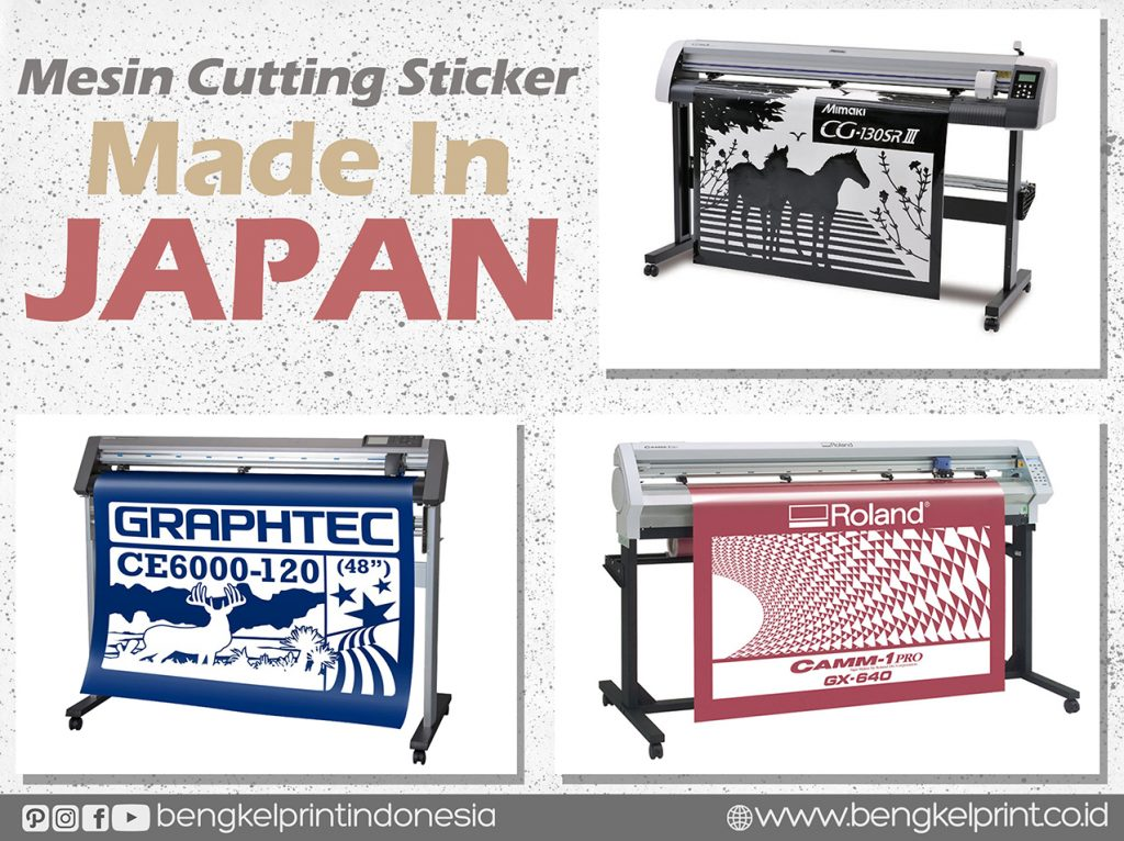 Jual Mesin Cutting Sticker Made In Japan Murah