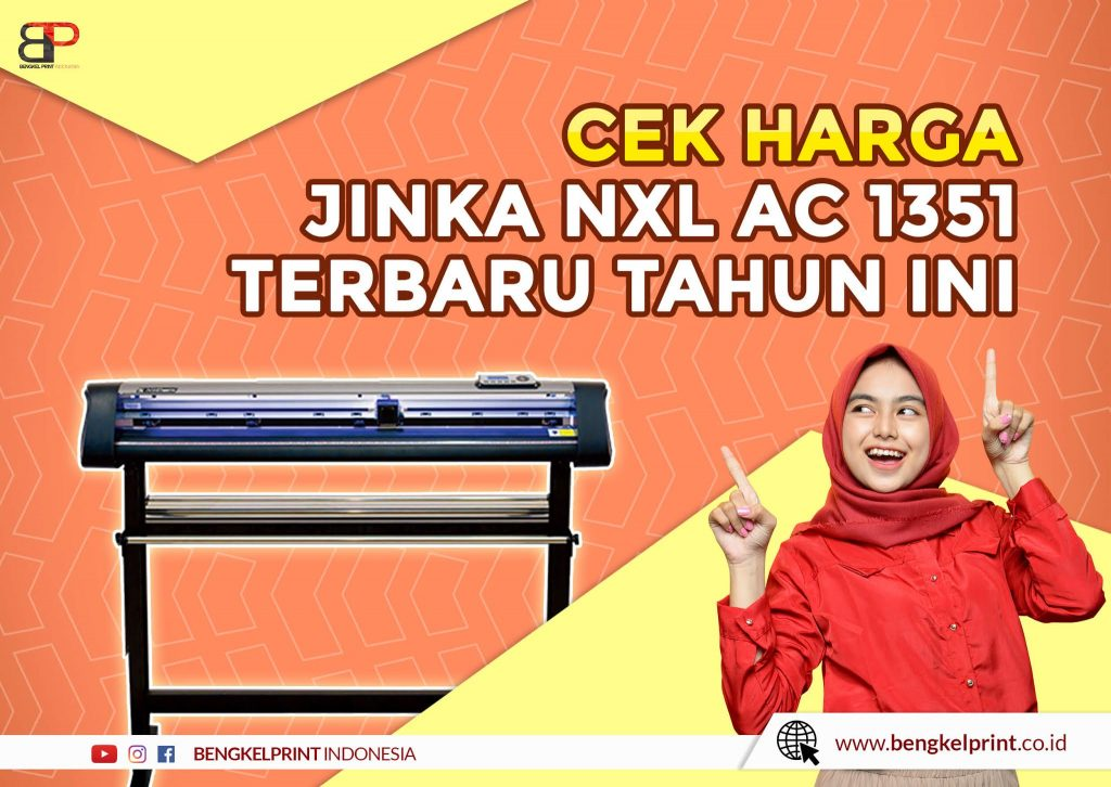 Mesin Cutting JINKA NXL 1351 AC